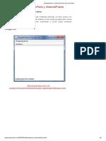 JDesktopPane y JInternalFrame