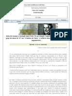 Ficha de Trabalho Escolha Multipla Sermao