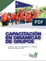 Brochure Nuevo Curso de Dinamicas de Grupos