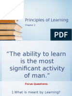 2 Principles of Learning