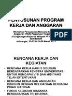 workshop - PROGRAM KERJA DAN ANGGARAN, KOPERTIS 4(1).pptx