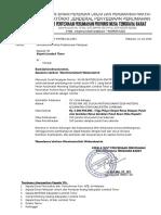 Surat Penyerahan Lapangan Rusun Lombok Timur Ponpes Ulil-Albaab