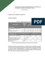 ANÁLISIS DE RESULTADOS PUNTO DE ABLANDAMIENTO DE MATERIALES BITUMINOSOS.docx
