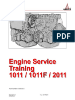 1011-2011 TRAINING MANUAL Deutz Engine 999 0512