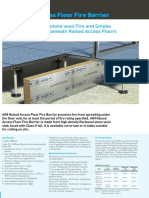AIM Raised Access Floor Fire Barrier
