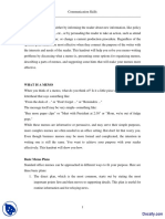 Module 3- Memo Writing I-Effective Business Communication-Lecture Handout PDF