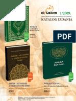 Islamske knjige katalog_2009