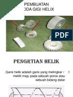Roda gigi helix