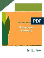 Tea demography