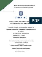 Proyecto de Grado Cibertec