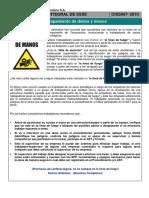 Charla Integral de SSSE 067 - Atrapamiento de Dedos y Manos en Antamina