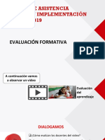 Ppt Evaluacion Formativa - Julio 2019