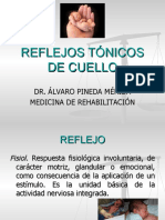 REFLEJOS TÓNICOS DE CUELLO