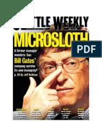 Microsloth - Microsoft's Sacred Cash Cow