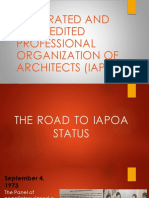 Road to IAPOA 3