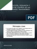 Epidemiología, Vigilancia y Métodos de Control De