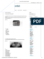 Interpretasi Radiografi