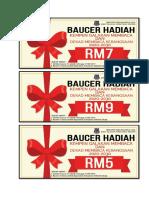Baucer Hadiah Rm9 Rm7 Rm5