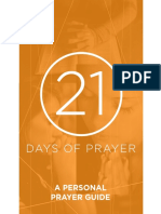 21 days of Prayer A Personal Prayer Guide