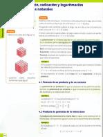 Potenciacion, Radicacion y Logaritmacion de Numeros Naturales Teoria Con Ejemplos001