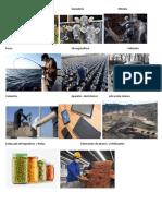 AgriculturaGanadería Minería