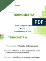 Aula 02 - 15set - Sensores de Medição de Temperatura Mecânicos