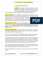 Monetary Policy and RBI's Function