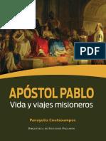 COUTSOUMPOS, Panayotis (2019). Apostol Pablo. Vida y Viajes Misioneros. Serie Biblioteca de Estudios Paulinos #2