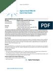 Agilent Small RNA Kit Quick Start Guide