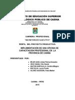 estudio de practica en educacion superior en secretariado