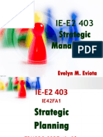 00 Introduction strategic planning IE