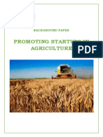 Background Paper Agri Startups