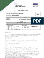 plano de ensino 6TRU008 -      CONSTRUÇOES DE MADEIRAS 2010