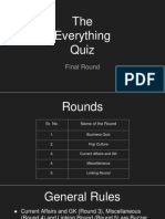 The Everything Quiz