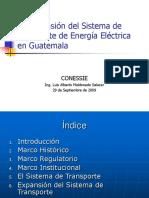 La Expansion del Sistema de Transporte de Energia C.A.