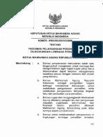 Pedoman Pelaksanaan Pengawasan KMA 80