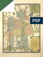 Mapa Santiago XIX
