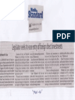 Manila Standard, July 16, 2019, Legislator seeks to ease entry of foreign direct investments.pdf