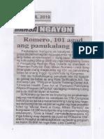 Ngayon, July 16, 2019, Romero, 101 agad ang panukalang batas.pdf