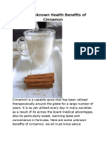 PsySpeaks Blog - Benefits of Cinnamon