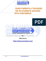 How Parents & Teachers Involvement Leads to Student Success