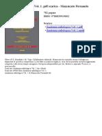 Anatomia Radiologica Vol 1