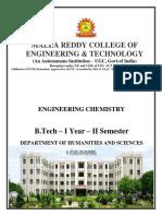 Engineering Chemistry Digital Notes R-18-SEM-2
