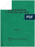 DESIGN AND CONSTRUCTION OF LARGE TANKERS - NKK 1998