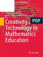Cretivty and Technology in Matematics Education