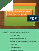 Bab 6 - Hukum dasar ilmu kimia dan perhitungan kimia.pptx