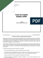 Costo de Capital Modelo CAPM