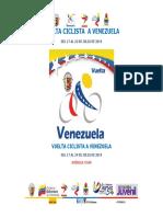 Roadbook  de La Vuela a Venezuela 2019 #vven2019
