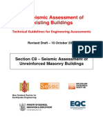 C8-Seismic Assessment of Unreinforced Masonry Buildings 10 Oct 2016