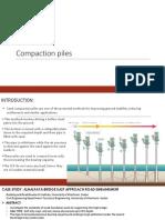 Compaction Piles